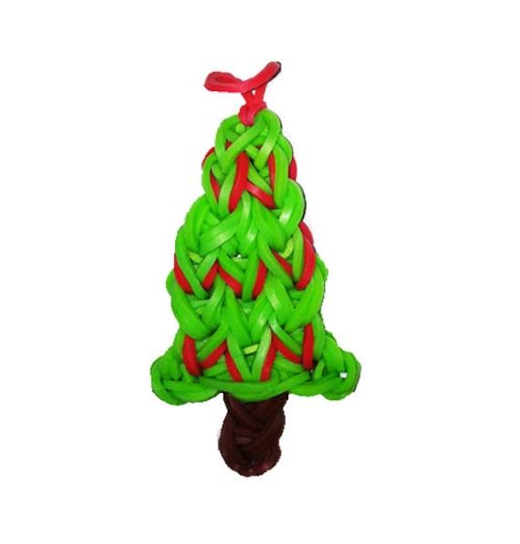 Items Similar To Rainbow Loom Christmas Tree Ornament