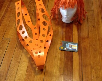 Leeloo Dallas Accessory Package with Suspenders Pattern & Tutorial