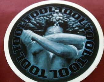 """Tool Parabola 5 1/2"""" Round STICKER Decal new old stock"""