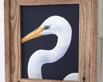 Original White Pelican Painting