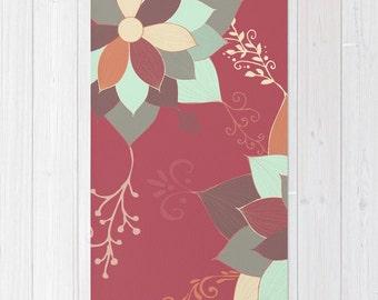 Morrocan Flowers Floor Rug