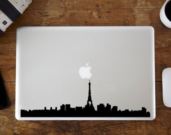 Paris Skyline MacBook Decal