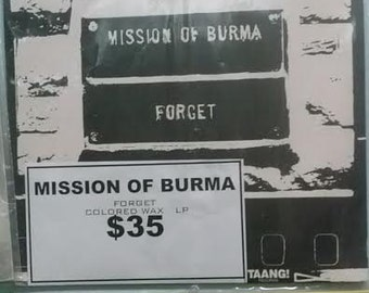 Mission Of Burma forget Red Vinyl LP