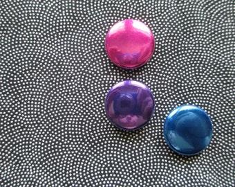 "Bi Pride Colors 3p 1"" Button Pack"