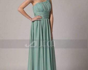Grecian Style Beach Bridesmaid Dress Formal Dress Prom Dress B435