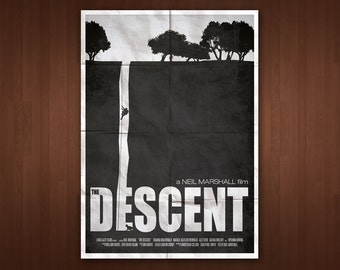 The Descent Poster (Multiple Sizes)