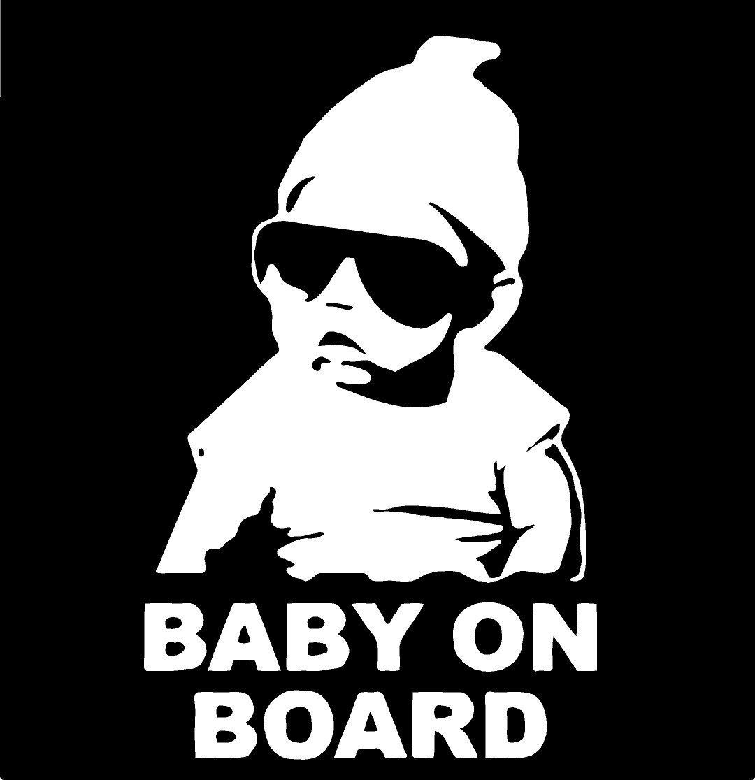 baby on board vinyl decal sticker funny truck car by decal2000. Black Bedroom Furniture Sets. Home Design Ideas