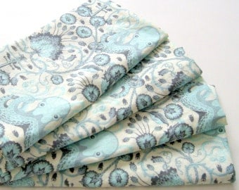 Large Cloth Napkins - Set of 4 - Octopus