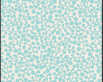 Modernology-Mod Vines Aqua-by Pat Bravo-Art Gallery Fabrics