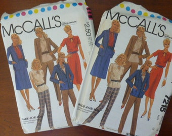 McCall's Made for you Combo Package Pattern # 7215