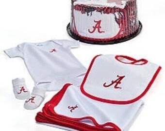 Alabama Crimson Tide Baby Clothing Gift Set
