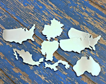 Pick your country - Aluminum Stamping Blanks Qty 1
