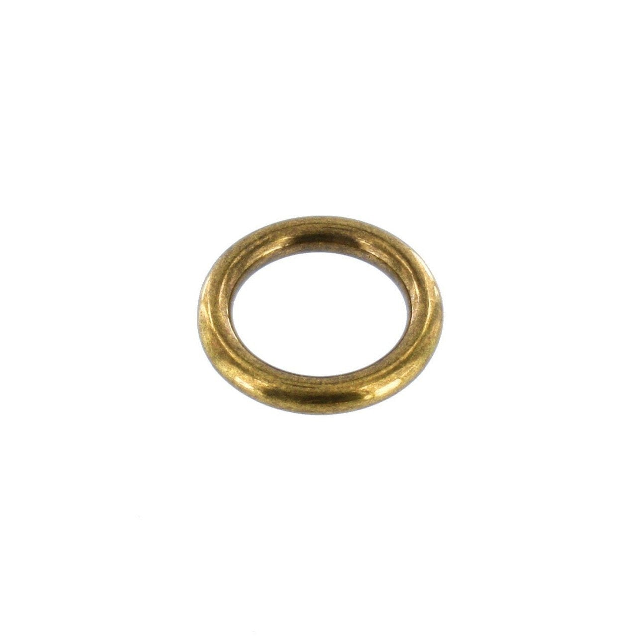 or012 3 4 antique brass o ring solid brass ll