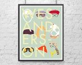 Wes Anderson: Headgear