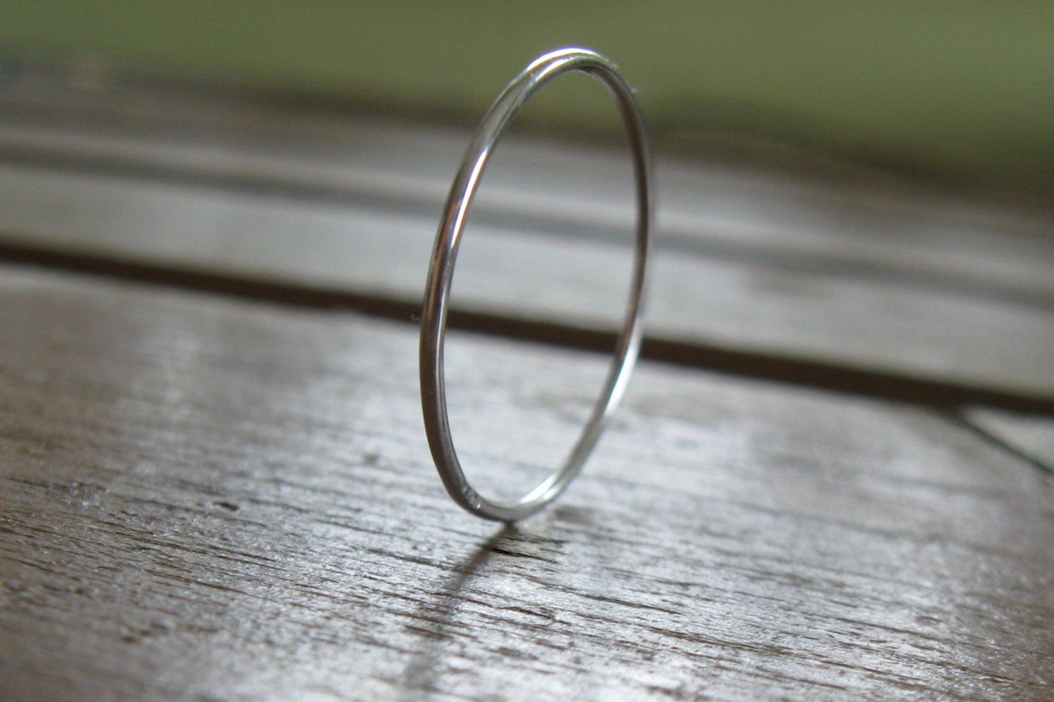 Super tiny platinum ring 08mm tiny band narrow platinum for Tiny wedding ring