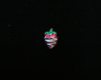 Chocolate Covered Strawberry Floating Charm fits Origami owl lockets