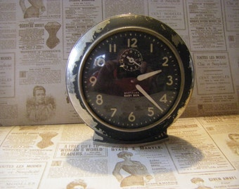 Westclox Baby Ben  Made in USA  Wind up clock- 1949