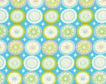 Kumari Garden - Lalit - Blue by Dena Fishbein for Free Spirit Fabrics