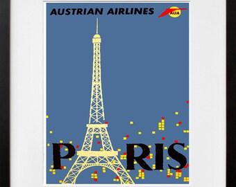 Paris Art Travel Poster France Print Home Decor (ZT367)