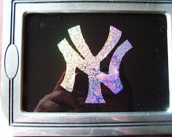 New York Yankees Glass Painting Logo