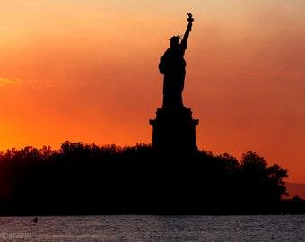 Statue of Liberty Photo at Sunrise; New York Photography; New York Fine Art Photography; Photos New York; Lady Liberty Photo