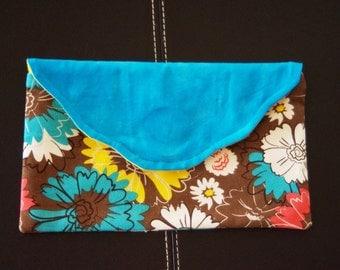 Handmade Clutch Purse- Bag. Retro Designs. Made In Australia