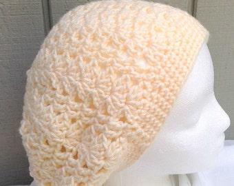 Crochet slouchy hat - Girls accessories - Girls slouchy beanie - Girls hats