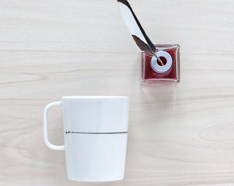 "Coffee mug ""Black ink"""