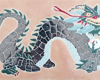 Dragon tile trivet