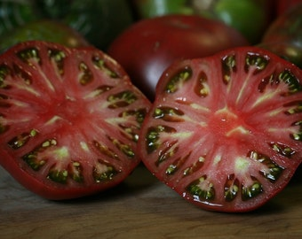 "Cherokee Purple Tomato - 4 Plants/2"" Pots - Heirloom - Great Flavor"