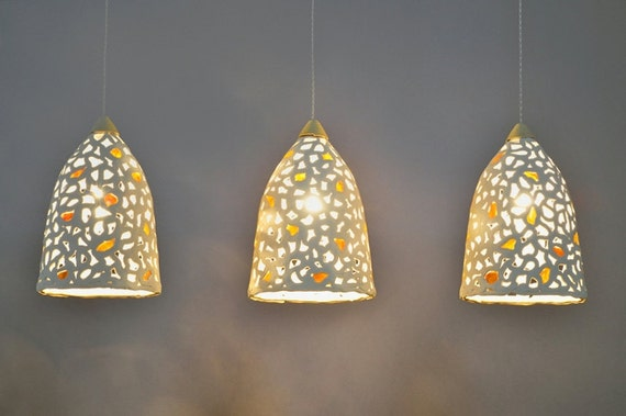 15 off hanging lamp shades lighting 3 ceramic pendant like this item aloadofball Images