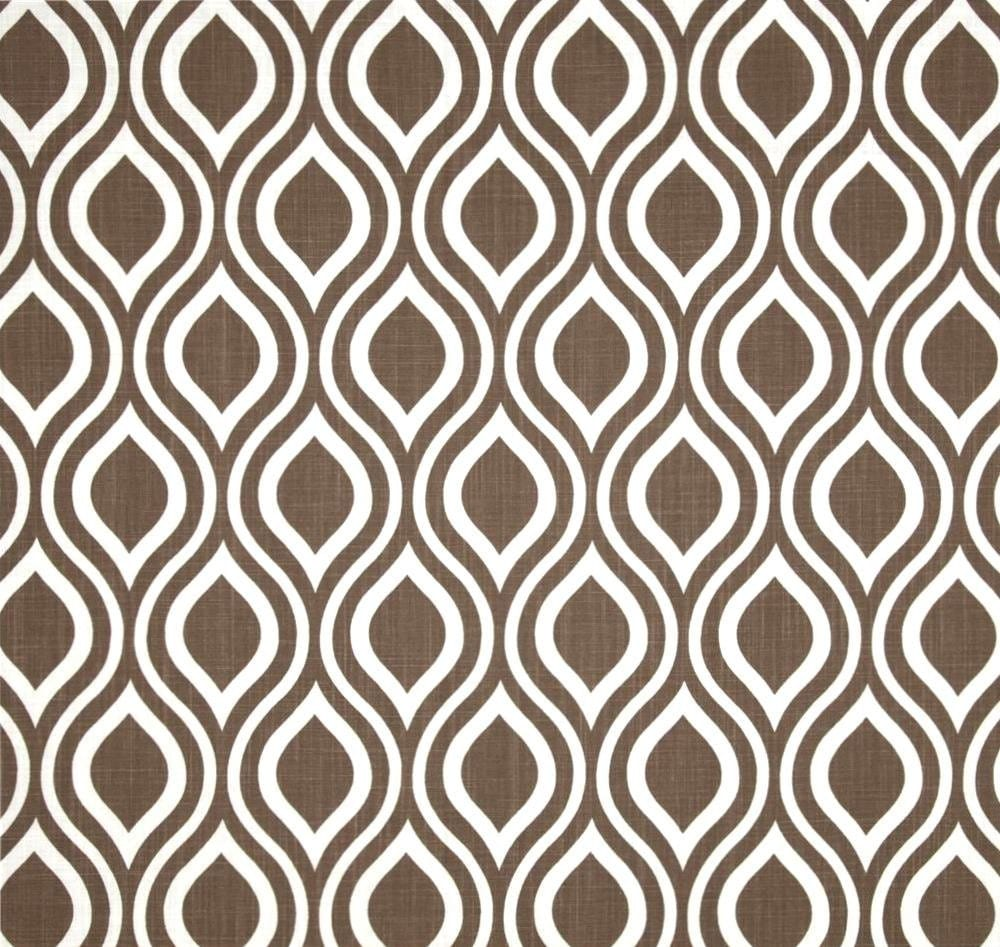chocolate brown home decor fabric by the yard by cottoncircle