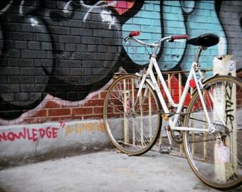 Bicycle, Holga Photography, Digital Photo Download