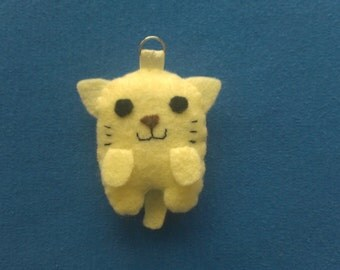 Plush Handsewn Kitten