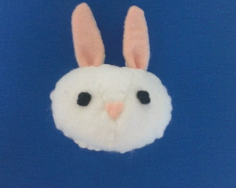 Plush Handsewn Rabbit