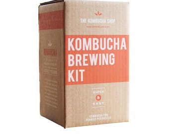 Organic Kombucha Brewing Kit