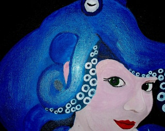 Painting: Lady Cephalopod