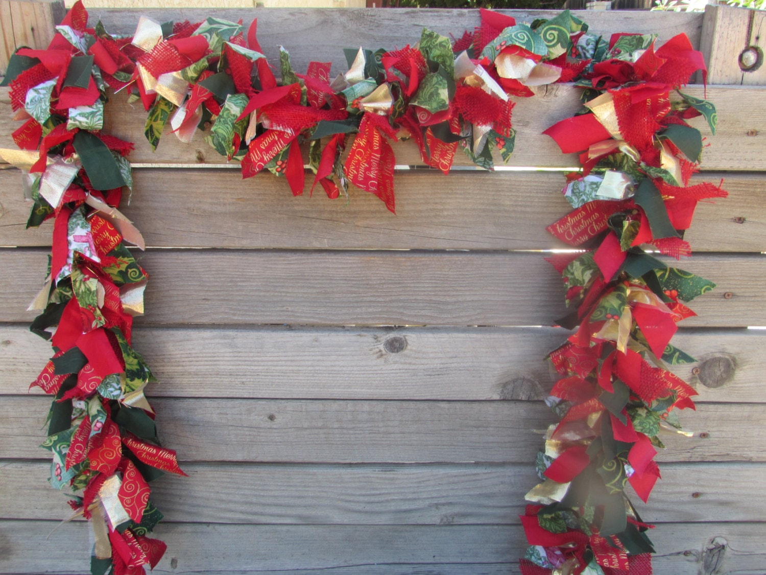 6 39 christmas garland winter garland christmas swag for Christmas swags and garlands to make