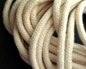 50 yds 45 meters Beige Cotton Cord String Rope Drawstring Wrap Crafts Supply 4mm width CC3