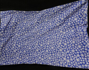 Snowflake pillow case