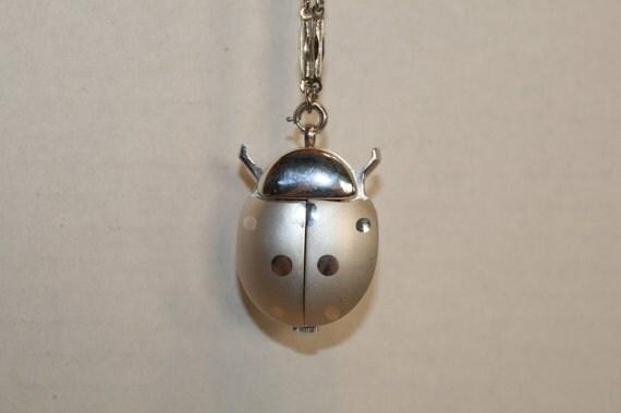 Jufrex Swiss Jewels Ladybug Pendant Watch