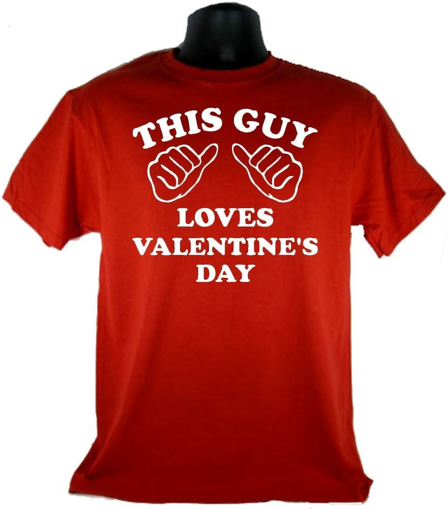 City Shirts This Guy Loves Valentine's Day Adult Red T-Shirt at Sears.com
