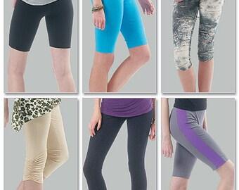Misses'/Women's Leggings in Four Lengths McCalls Pattern M6360