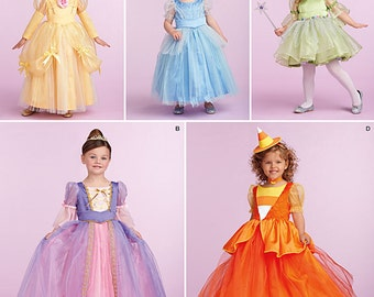 Simplicity Sewing Pattern 1303 Toddlers' and Child's Costume