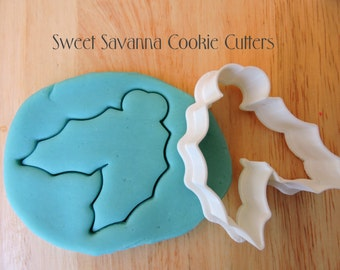 Christmas Holly Cookie Cutters