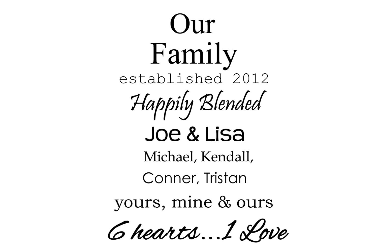 Inspirational Quotes About Blended Families QuotesGram