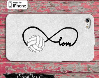 Volleyball Love Infinity Symbol Tumblr Cute iPhone 5 5s 5c Case iPhone 6 and 6 Plus and iPhone 6s Case and iPhone SE iPhone 7 Plus Case