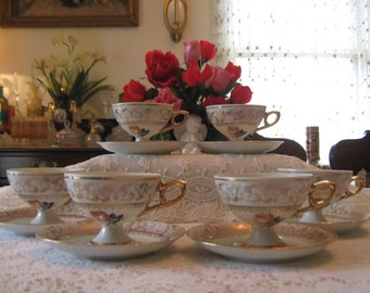 SOLD! Vintage Bavaria Germany coffee set