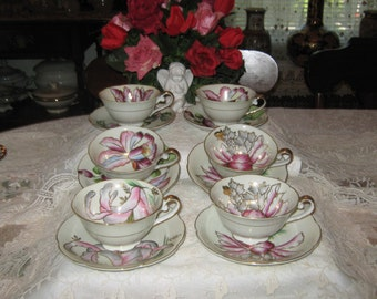 Vintage Royal sealy China Japan coffee cups.