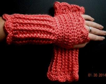 Soft, Warm, & Practical Wrist Warmer- Coral